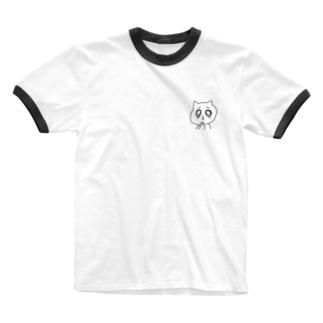 うるねこくん Ringer T-shirts