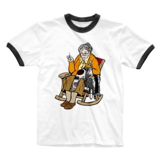PUNKS / Orange Ringer T-shirts