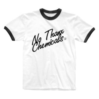 No Thanx Chemicals Ringer T-shirts