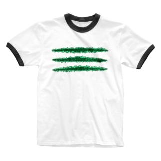 TSUME@DoukeiShock Ringer T-shirts
