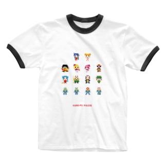 カンフー・ポリス Ringer T-shirts