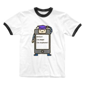 アスフォン Ringer T-shirts
