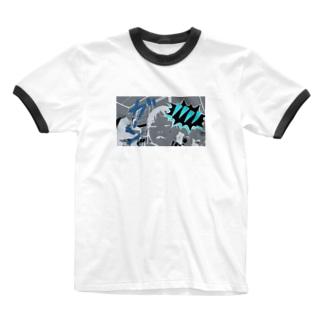 ガーン!!!! Ringer T-shirts