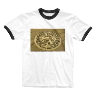 ミステリーサークル2 Ringer T-shirts