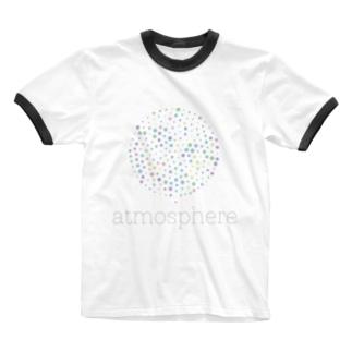 プチプチわふわふ Ringer T-shirts