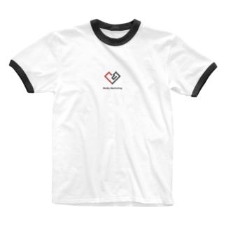 メディアマーケティングチームグッズ Ringer T-shirts