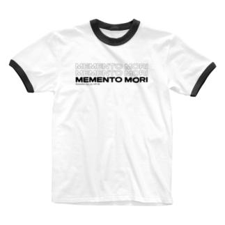 メメントモリ- MEMENTO MORI Ringer T-shirts