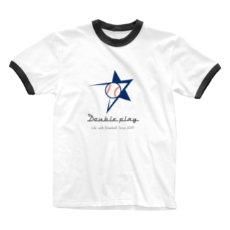 Double play Ringer T-shirts
