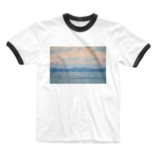 淡い Ringer T-shirts