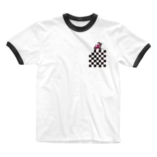 バイカー Ringer T-shirts