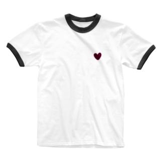 急所 Ringer T-shirts