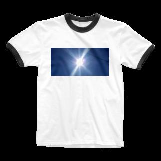 キアヌの太陽サンサン Ringer T-shirts