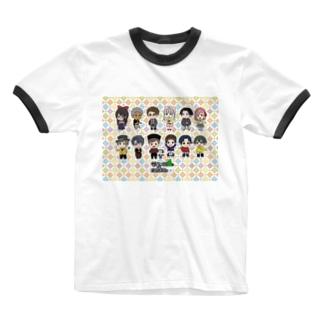 サクッ!!とまえばし公式 Ringer T-shirts