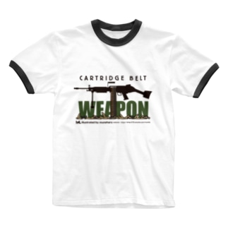 WEAPON Ringer T-shirts