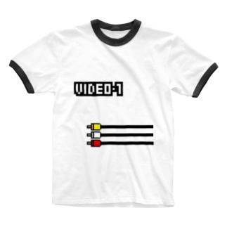 VIDEO 1 Ringer T-shirts
