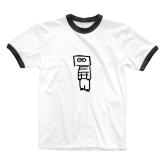 1人だけ Ringer T-shirts