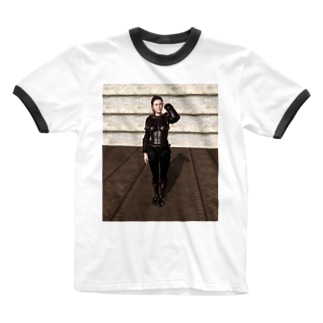 イメチェン Ringer T-shirts