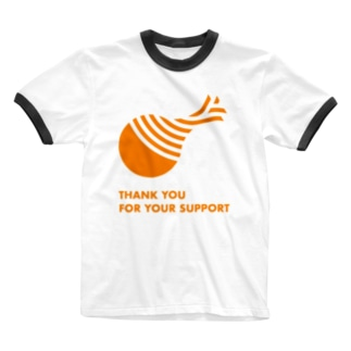 THANK YOU FOR YOUR SUPPORT Ringer T-shirts