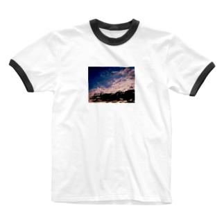 またあした Ringer T-shirts