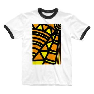 《K@eDe》 Ringer T-shirts