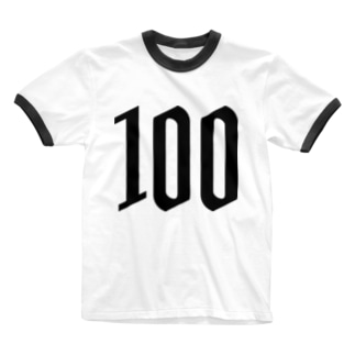 100 Ringer T-shirts