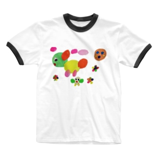 エンカラな世界 Ringer T-shirts
