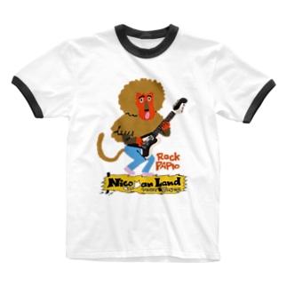 Rock Papio Ringer T-shirts