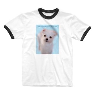 笑ちゃんを忘れない Ringer T-shirts