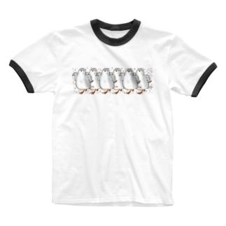 ヒメウズライン Ringer T-shirts