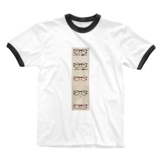 眼鏡 ウェリントン メンズ乱視パソコン眼鏡メガネ 通販メガネ度付きおしゃれ伊達バーゲン吉祥寺フレーム黒ぶち軽量レディース ブルーライトカットレンズおすすめウェリントン型メガネ 安い Ringer T-shirts