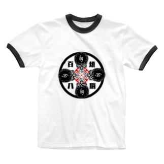 髑髏deROCK  Ringer T-shirts