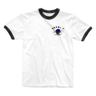 宇宙シリーズcolor1 Ringer T-shirts