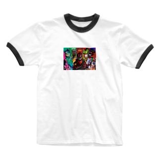 しょうじ Ringer T-shirts