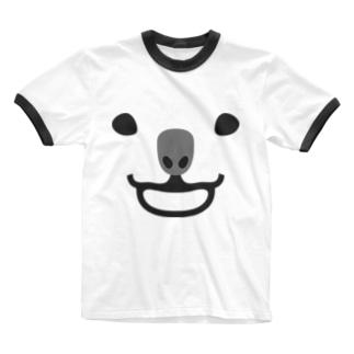 コアラ Ringer T-shirts