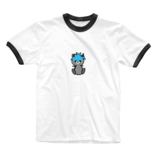ロシアンウルフ Ringer T-shirts