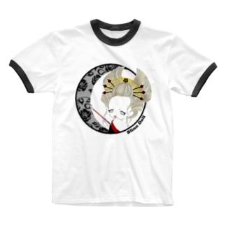 BlinnDoll❤C Ringer T-shirts