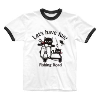 フィッシングロード 1 Ringer T-shirts