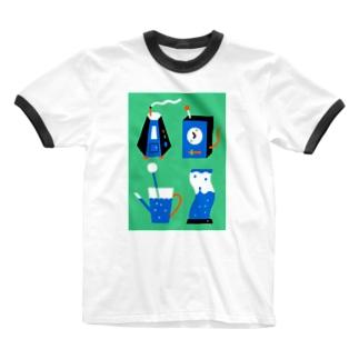 drawing 05 Ringer T-shirts