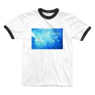 泡沫の夢 Ringer T-shirts