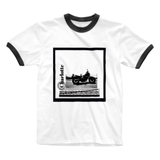 ride the bike with Charlotte Ringer T-shirts