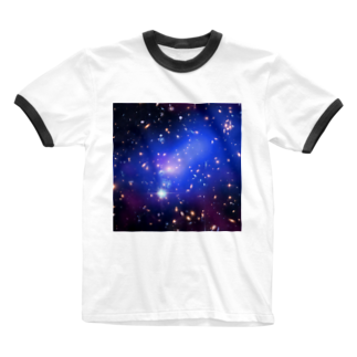 2step_by_Jrの宇宙の藻屑 Ringer T-shirts
