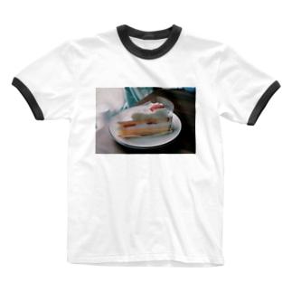 いちごショート  Ringer T-shirts