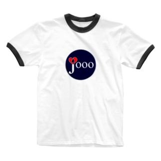 ジョーライブ丸ロゴTシャツ Ringer T-shirts