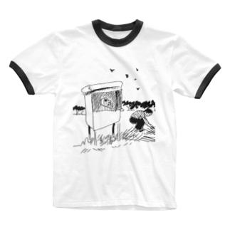 小屋 Ringer T-shirts