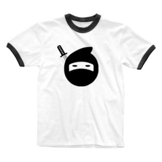 にんにん Ringer T-shirts