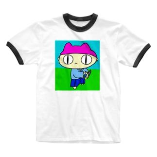 抜刀術の達人 Ringer T-shirts