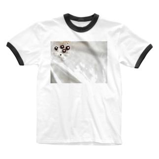 ひなたぼっこ Ringer T-shirts