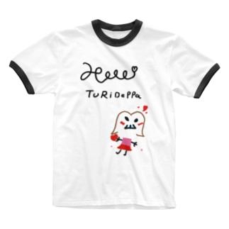 つりでっぱブランド初期A Ringer T-shirts