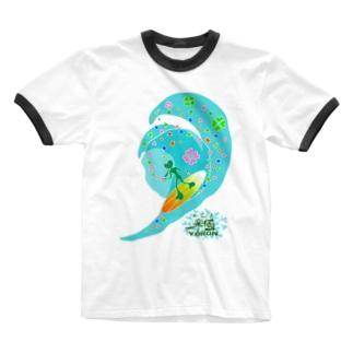 ハートマン Ringer T-shirts