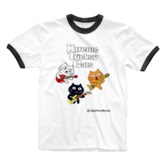 ネコ兄弟 tXTC_60 Ringer T-shirts